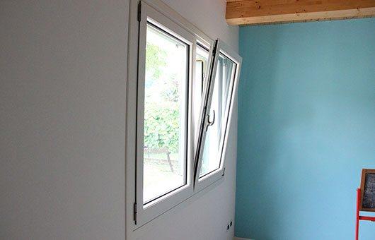 Finestre e serramenti in alluminio: installazione del modello NC 75 STH HES