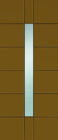 Portoncino d'Ingresso LILLE in vetro