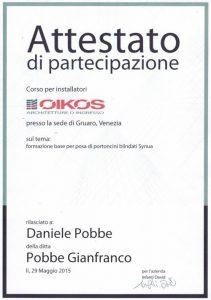 Corso per installatori Oikos sul tema: Formazione base per posa di portoncini blindati Synua